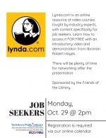 Tewksbury Job Seekers Network: How To Use Lynda.com In Your Search