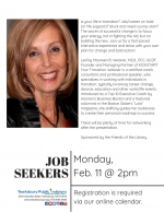 Tewksbury Job Seekers Network: Getting Out Of The Habit Of Being Yourself