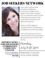 Tewksbury Job Seekers Network: Opportunities For Job Seekers at Middlesex Community College