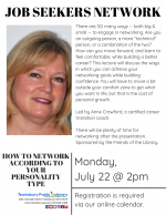 Tewksbury Job Seekers Network: How To Network According To Your Personality Type