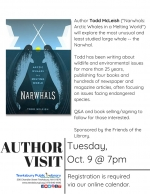 Author Visit: Narwhals -- The Unicorns Of The Sea