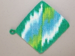 Crochet a hot pad/pot holder