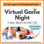 Vitual Game Night for Kids