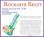 Rockabye Beats [Online Zoom Event]