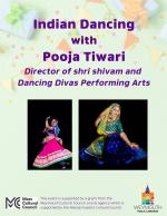 Indian Dancing with Shri Shivam and Dancing Divas Performing Arts