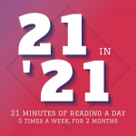 VIRTUAL EVENT: 21 in '21 Winter Reading Challenge