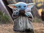 Gouache Painting: Baby Yoda