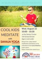 Cool Kids Meditate with Sahaja Yoga