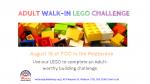 Adult Walk-in LEGO Challenge