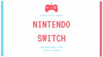 Nintendo Switch Flyer for Monday programming