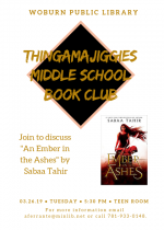 The Thingamajiggies Middle School Book Club