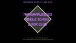 Thingamajiggies Middle School Book Club