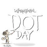 Celebrate International Dot Day! Ages 12 and under