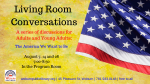Living Room Conversations: Founding Aspirations