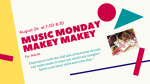 Music Monday : Makey Makey for Adults