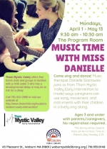 Music Time with Miss Danielle, Ages 3 and under