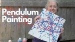 Art for Kids: How to Create an AMAZING PENDULUM PAINTING