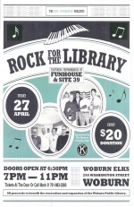 Rock for the Library: A WPL Foundation Fundraiser