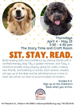 Sit. Stay. Read. (for grades K-2)