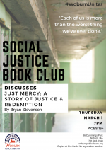 Social Justice Book Club Discusses Just Mercy: A Story of Justice and Redemption