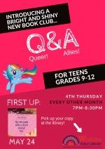 Q (ueer) & A (llies) Book Club