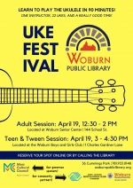 VACATION WEEK Teen & Tween Ukulele Workshop: Learn to play in 90 minutes!