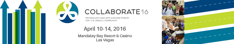 COLLABORATE 16, the technology and applications forum for the Oracle community. The Quest Forum at COLLABORATE 16 is the home for PeopleSoft, JD Edwards and Oracle Fusion users