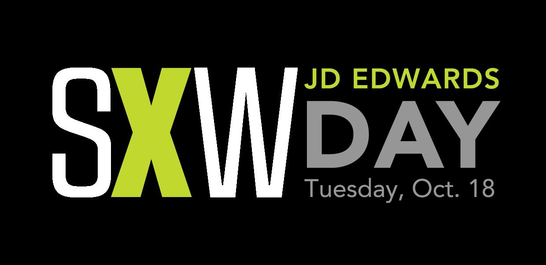 SXW JD Edwards Day