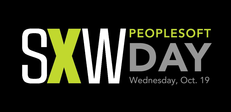 SXW PeopleSoft Day