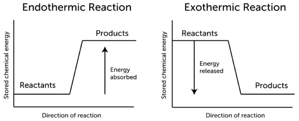Chemical Reactions And Energy Lesson 0785 Tqa Explorer