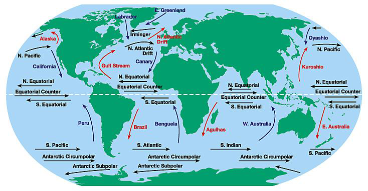 Surface ocean currents lesson 0322 tqa explorer descriptionimage gumiabroncs Choice Image