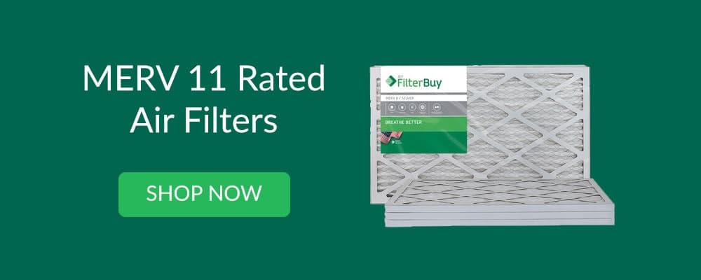 shop MERV 11 rated air filters with Filterbuy