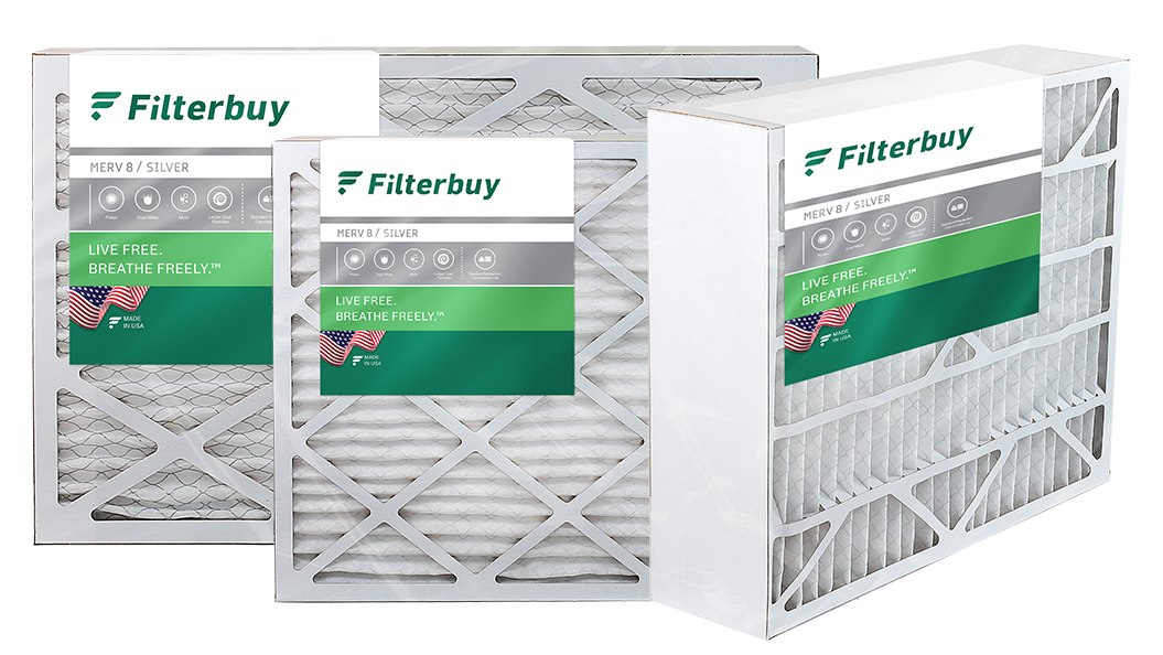 Filterbuy air filters for easy replacement and air conditioner protection