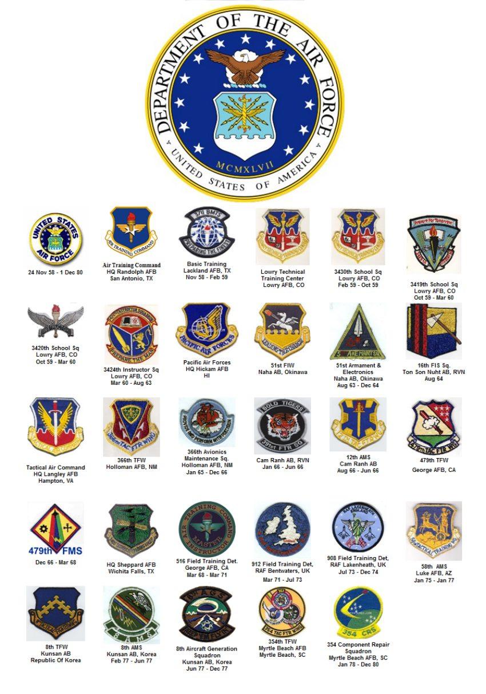 Togetherweserved Smsgt John Slusser - Air-force-occupational-badges