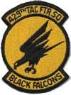429th Tactical Fighter Squadron - Black Falcons