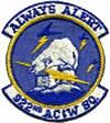 922nd Aircraft Control and Warning Squadron