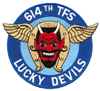 614th Tactical Fighter Squadron - Lucky Devils