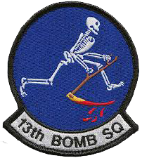 13th Bombardment Squadron, Light
