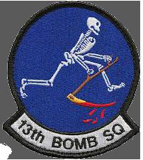 13th Bombardment Squadron, Tactical