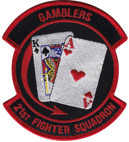 21st Fighter Squadron  - Gamblers