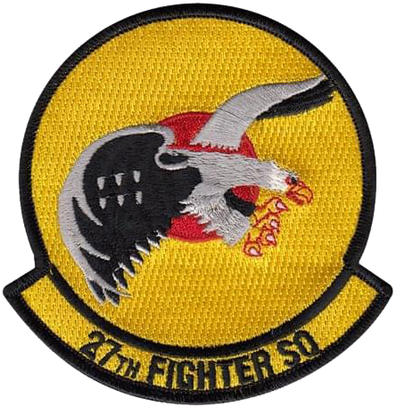 27th Fighter Squadron  - Fightin' Eagles