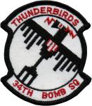34th Bombardment Squadron, Medium