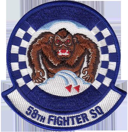 58th Fighter Squadron  - Gorillas