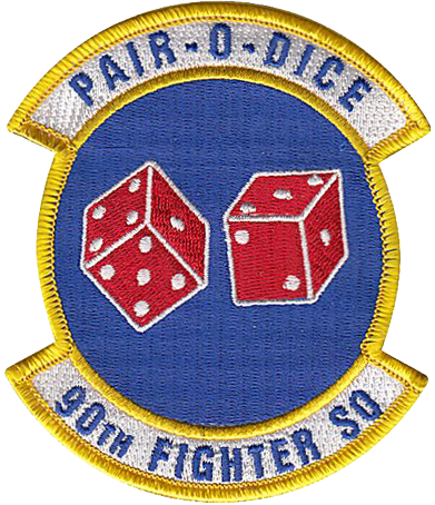 90th Fighter Squadron  - Pair-O-Dice