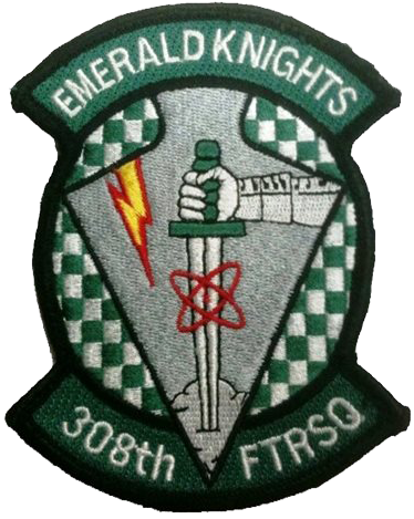 308th Fighter Squadron  - Emerald Knights