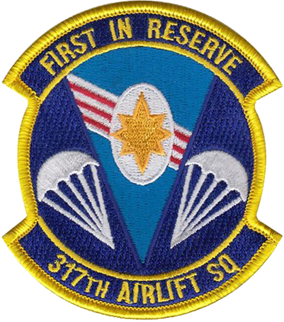 317th Airlift Squadron  - First in Reserve