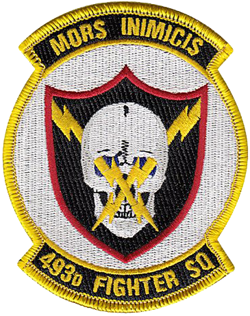 493rd Fighter Squadron  - Grim Reapers