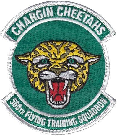 560th Flying Training Squadron (Cadre)  - Chargin' Cheetahs