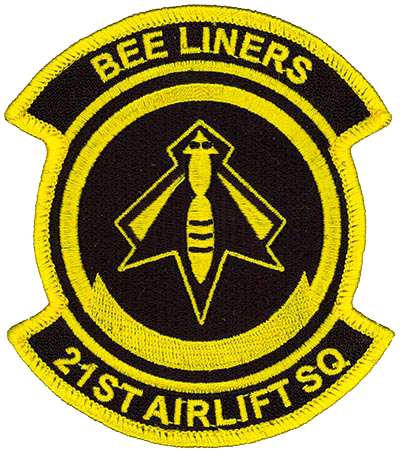 21st Airlift Squadron - Beeliners