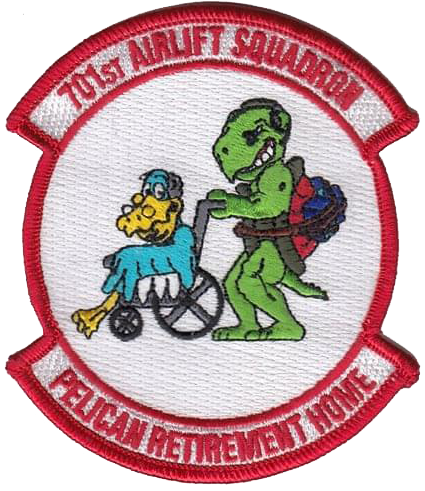701st Airlift Squadron - Turtles